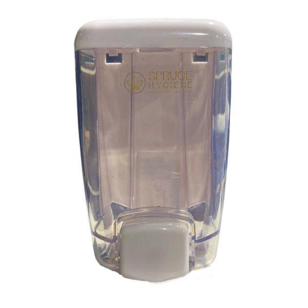 Hand Sanitizer Dispenser (White- Transparent)