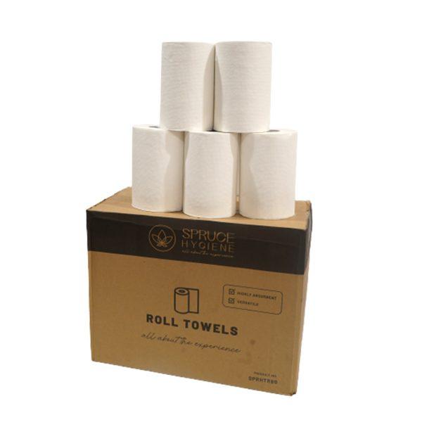 Roll towel box