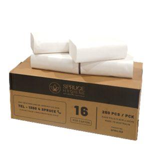 Folded Hand Towel box