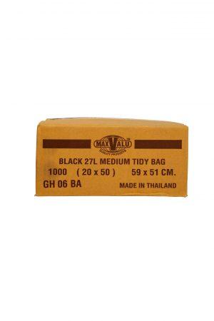 27L Black Bin Liner