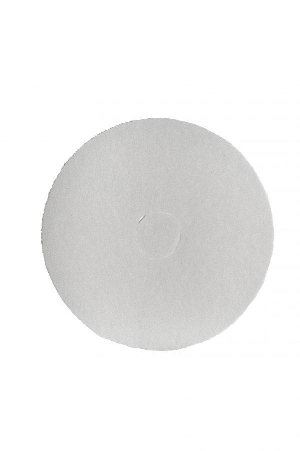 30cm Floor Pad White