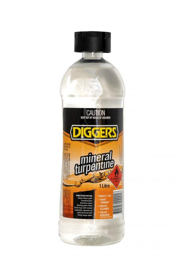 Diggers Mineral Turpentine – 1L
