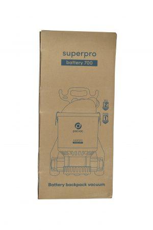 Pacvac Superpro Battery 700 Advanced Backpack Vacuum