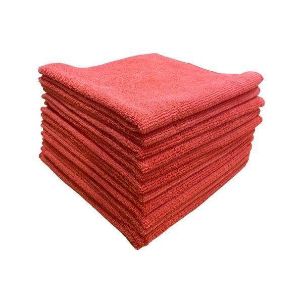 Microfibre Cloths (Red)